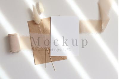 5x7 Card Mockup,Greeting Card,Poster Mockup