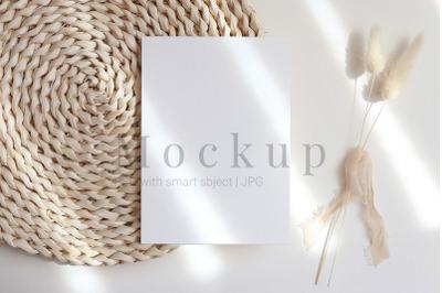 Greeting Card,Product Mockup