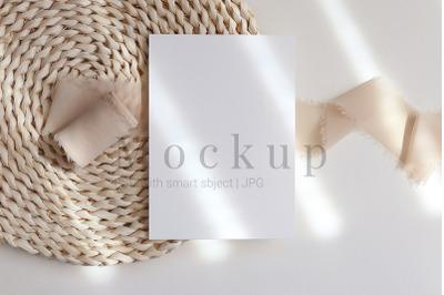 Greeting Card Mockup,Product Mockup