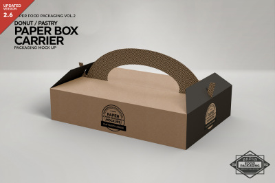 Download Box With Cake Mockup Yellowimages