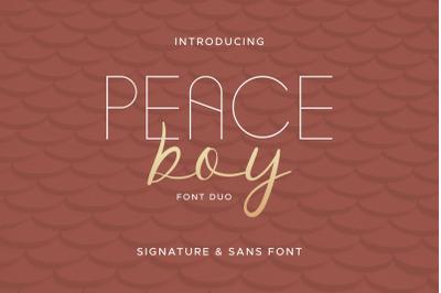 Peace Boy