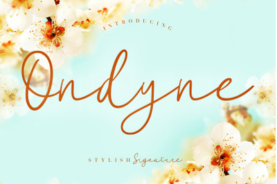Ondyne Stylish Signature