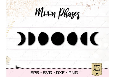 Moon Phases SVG