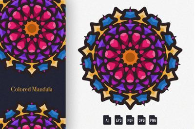 Colored Mandala Art 02