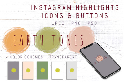 Instagram Story Highlight Button Set