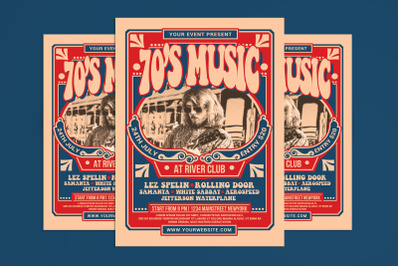 70's Music Event