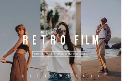 Moody RETRO FILM Color Lightroom Presets