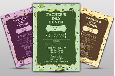 Fathers Day Special Flyer