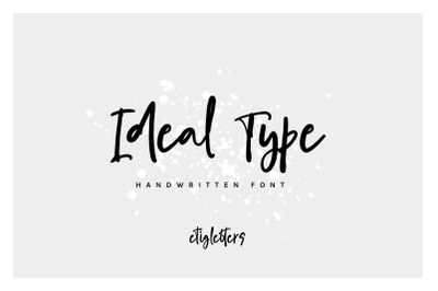 Ideal Type Casual Font