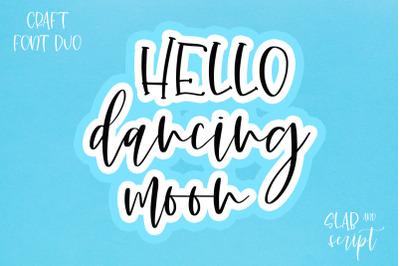 Dancing Moon -font duo-