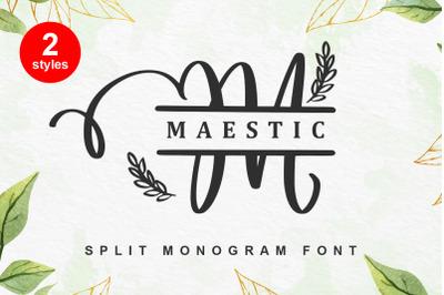 Maestic Monogram
