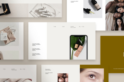 Kalm Powerpoint Template