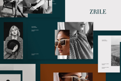 Zrile Powerpoint Template