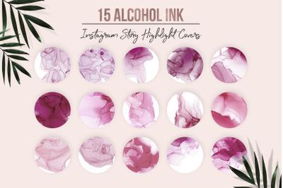 Alcohol Ink Instagram Highlights