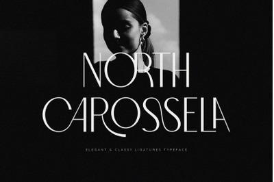 North Carossela || A Ligature Sans