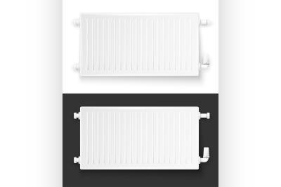 Realistic heating system radiator