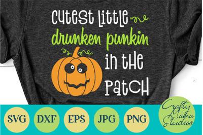 Cutest Pumpkin Svg, Halloween Svg, Funny Svg