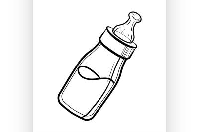 Sketch Baby bottle