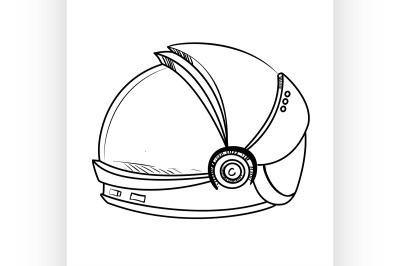 Astronaut Sketch Spacesuit