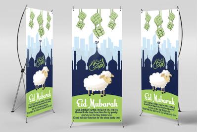 Eid Ul Azha Event Roll Up Standee Banner