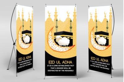 Eid Ul Azha Roll Up Standee Banner