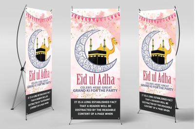 Eid Ul Azha Festival Standee Roll Up Banner