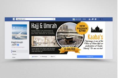 Hajj & Umrah Package Facebook Banner
