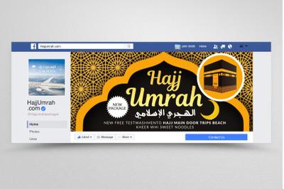 Hajj & Umrah Facebook Banner