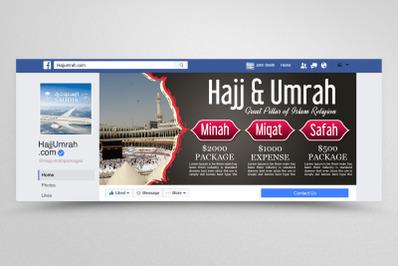 Umrah & hajj Packages Facebook Banner