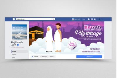 Hajj & Umrah Facbook Banner