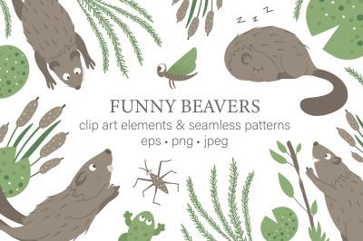 Funny Beavers