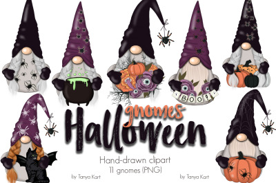 Halloween Gnomes Planner Icons
