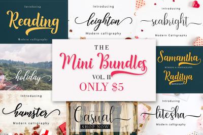 The Mini Bundles Vol. II  5 For $5