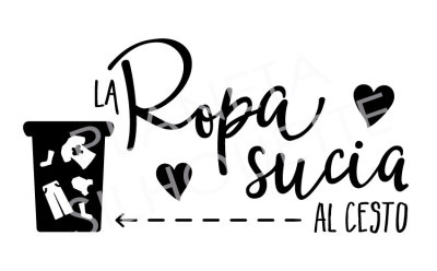 Ropa Sucia - .DXF, .SVG, .PNG