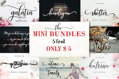 The Mini Bundles Vol. I  5 For $5