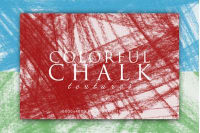 Colorful Chalk Textures 2