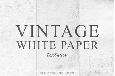 White Vintage Paper Textures 1