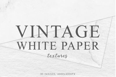 White Vintage Paper Textures 2