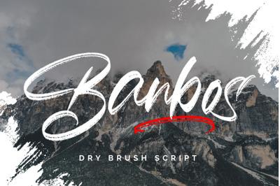 Banbos - Dry Brush Script