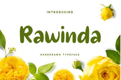 Rawinda - Handdrawn Font