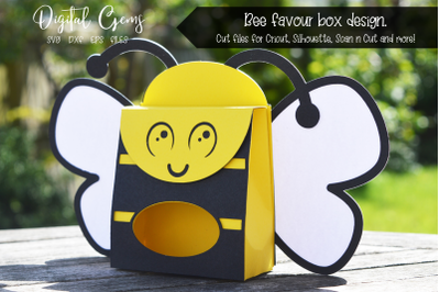 Bee favour box design