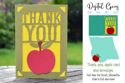 Thank you, teacher, apple card design