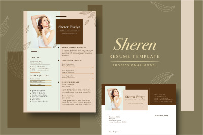 Resume Template - Professional Model