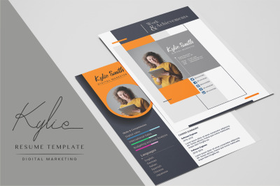 Resume Template - Digital Marketing