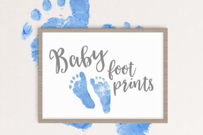 Baby Footprints