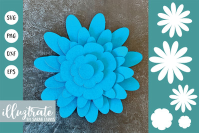 Floral SVG cut files | Paper Cutting Template