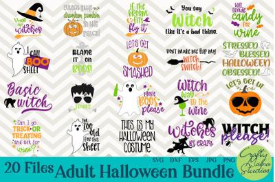 Halloween Bundle Svg, Funny Adult Halloween Svg