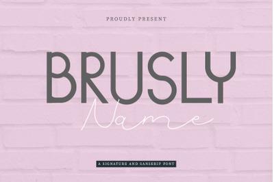 Brusly Name