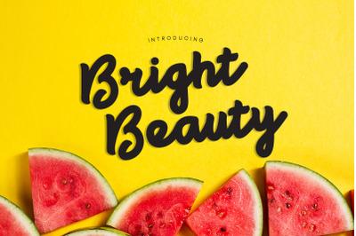 Bright Beauty - Black