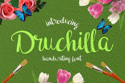 Druchilla - Modern Script